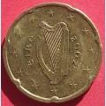 Ирландия,  20 евроцентов, обращение. Года: 2002, 2005