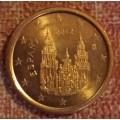 Испания,   1 евроцент, обращение. Года: 2011, 2012, 2013