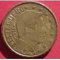 Люксембург,  10 евроцентов, обращение. Год: 2015