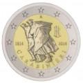 2 евро, Италия, 2014 год, 200 лет Карабинерам, монета из ролла
