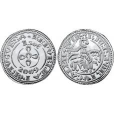 Португалия, 1,5 евро, 2009 год, Золотой маработино, без обращения
