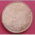 Испания,   5 евроцентов, обращение. Года: 2010, 2017