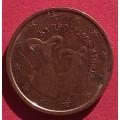 Кипр,   2 евроцента, обращение. Год: 2008